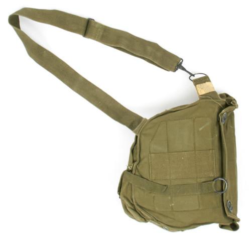 U.S. Armed Forces Vietnam Era M17 Gas Mask Bag w/Carry Strap