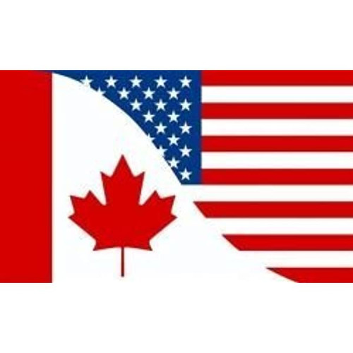 Canada/USA Flag