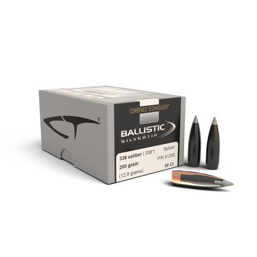 .338 Dia 200Gr Ballistic Silvertip