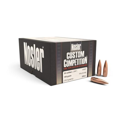 .308 Dia 155Gr Hpbt 250/Box Custom Competition