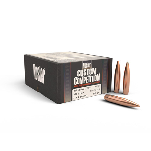 .338 Dia 300Gr Hpbt Custom Competition