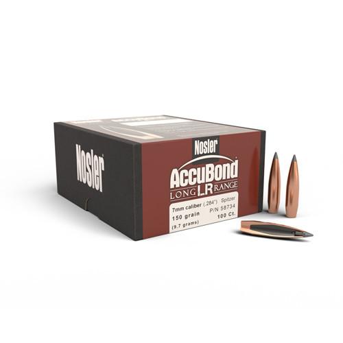 .284 Dia 150Gr Accubond Long Range 100 Per Box