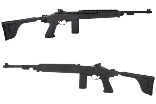 """King Arms Limited Edition """"Black Mamba"""" M1 Carbine CO2 Gas Blowback Rifle w/ Choate M1 Military Side Folding Stock"""