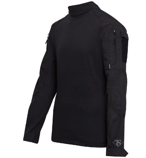 Tru-Spec Tactical Response Uniform Combat Shirt (Color: Black)