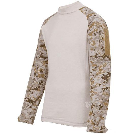 Tru-Spec Tactical Response Uniform Combat Shirt (Color: Digital Desert)