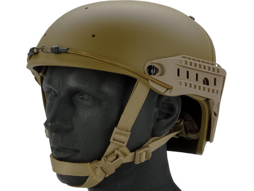 TMC Air Flow Bump Style Helmet (Color: Dark Earth)