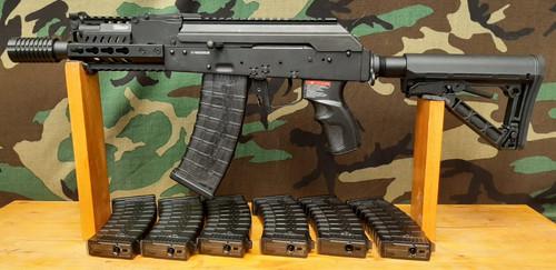 "G&G RK74-CQB AEG with 5"" Keymod Handguard - BONEYARD"