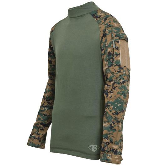 Tru-Spec Tactical Response Uniform Combat Shirt (Color: Digital Woodland)