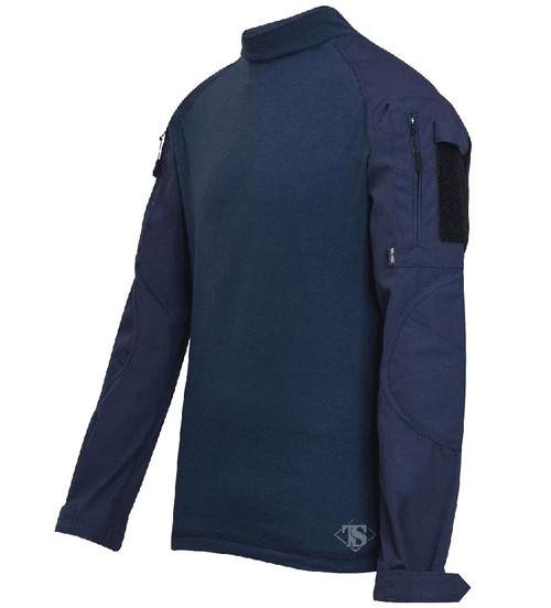 Tru-Spec Tactical Response Uniform Combat Shirt (Color: Navy)