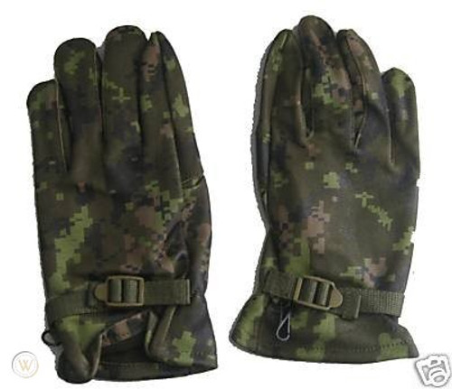Canadian Armed Forces  Combat Gloves - Cadpat