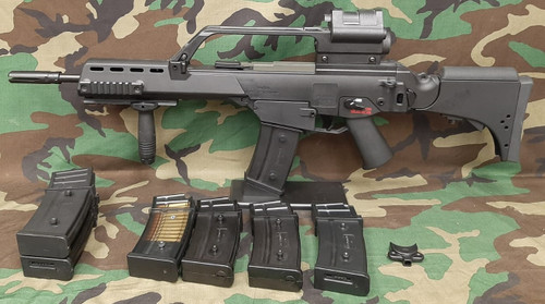 ARES EBB G36KV w/ Integrated Scope And Red Dot - USED