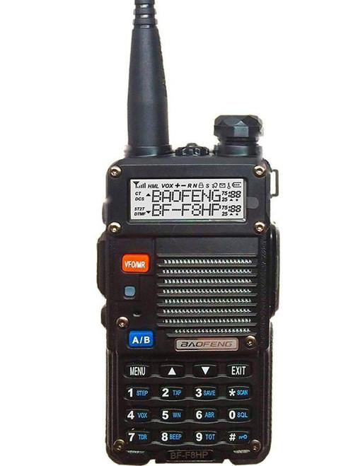 BaoFeng BF-F8HP 8-Watt Dual Band Two-Way Radio