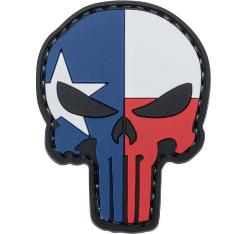 """5ive Star Gear """"Punisher"""" PVC Morale Patch (Type: Lone Star)"""