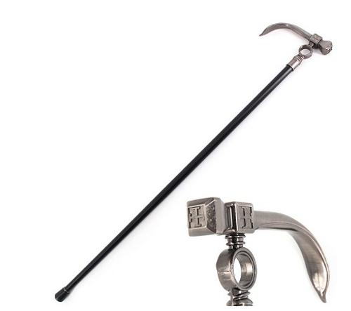 Hammer Style Gentleman's Walking Stick Cane