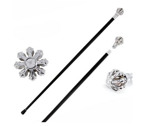 Silver Crown Knob Gentleman's Walking Stick