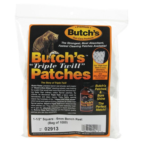 """Butch's Patches 1.5"""" Bench Rest"""