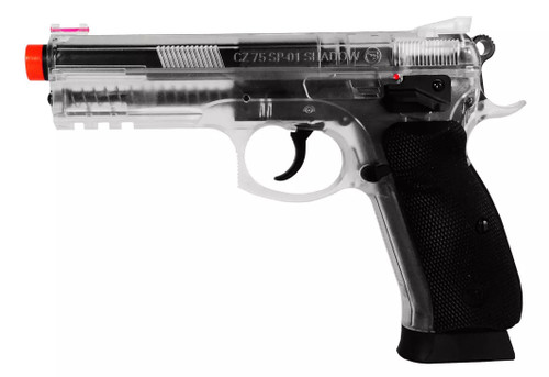 ASG Licensed CZ SP-01 Shadow Spring Airsoft Pistol w/ Accessory Rail