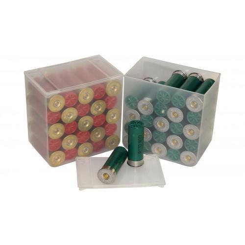 Shotshell Box 25/Rd 4/Pkg