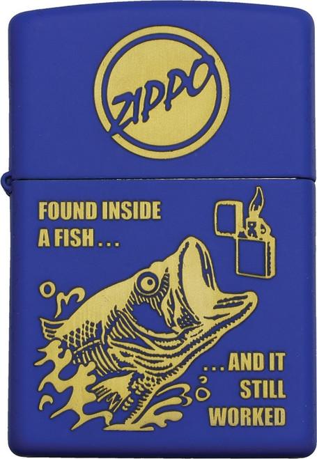 Fishing Lighter Blue Matte