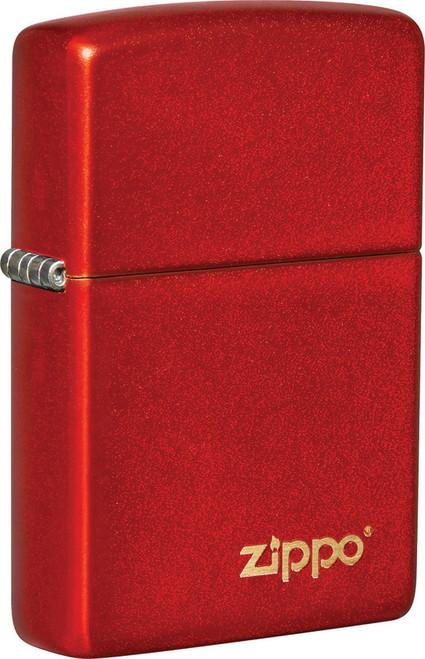 Classic Metallic Red Logo