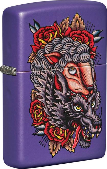 Wolf Lighter ZO19877