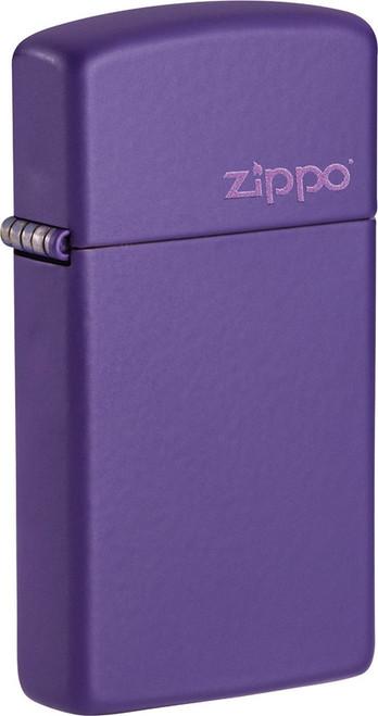 Slim Purple Logo Lighter