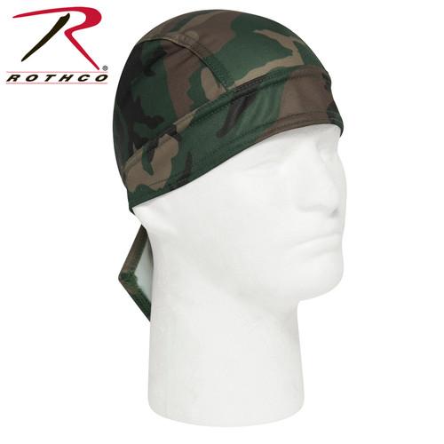 Rothco Moisture Wicking Headwrap - Woodland Camo