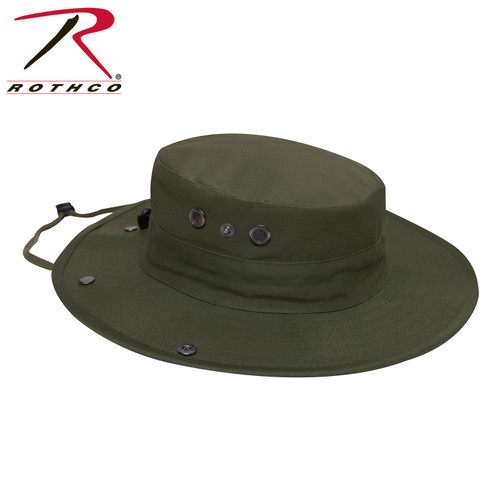 Rothco Adjustable Boonie Hat w/Neck Cover - Olive Drab
