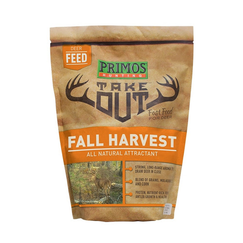 Take Out Fall Harvest Deer Attractant