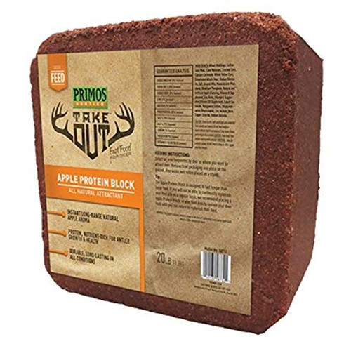 Take Out Block Apple Protein 20 Lb Block