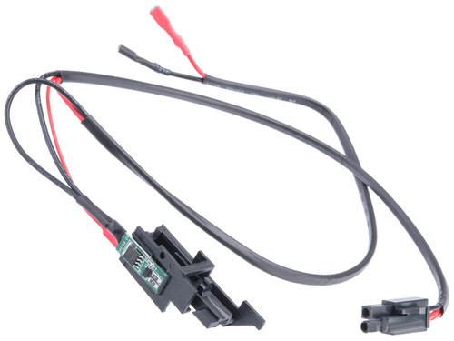 LCT Airsoft Replacement Wiring Assembly w/ MOSFET for V-Gearboxes (Model: Wired to Handguard)