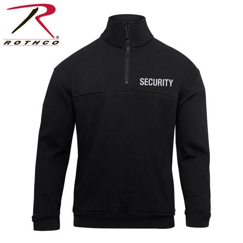 Rothco Security 1/4 Zip Job Shirt - Black