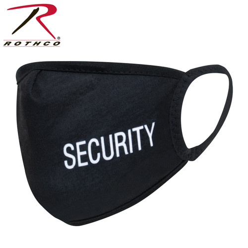 Rothco Reusable 3 Layer Facemask w/Security Print