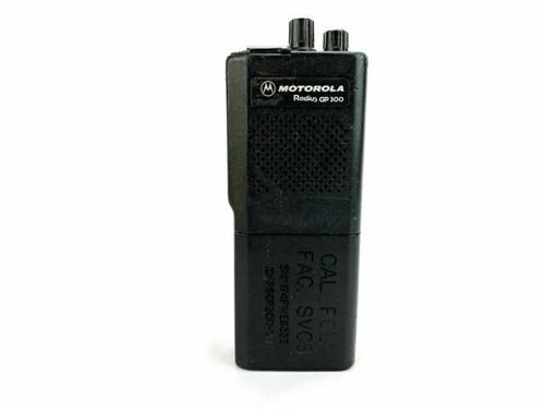 Motorola GP300 Radius Two Way Radio  w/ Charger Base & Antennae