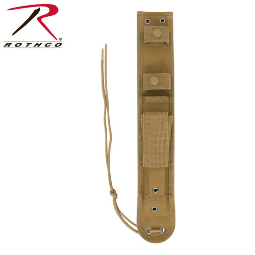 Rothco MOLLE Knife Sheath - Coyote Brown