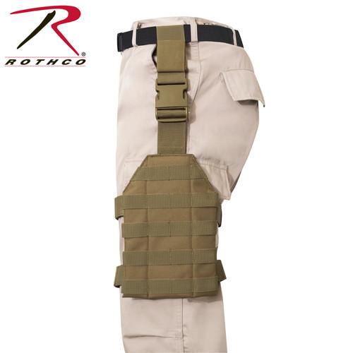 Rothco MOLLE Drop Leg Panel - Coyote Brown