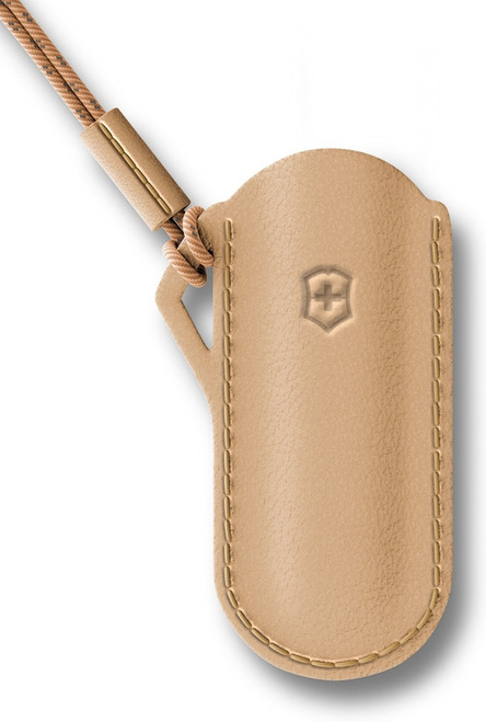 Classic Leather Pouch Wet Sand