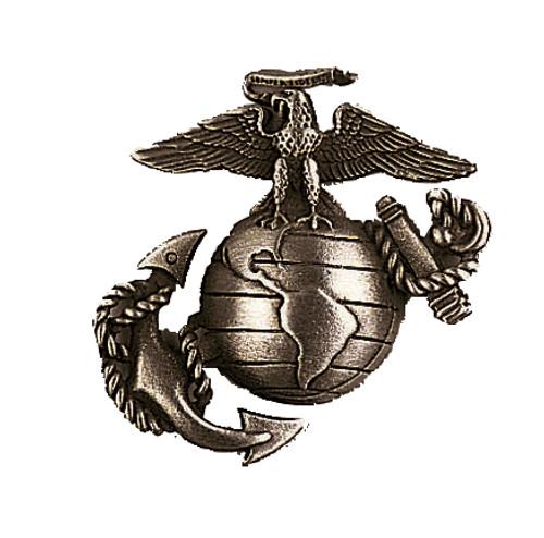 Pin - USMC Hat Pin Bronze