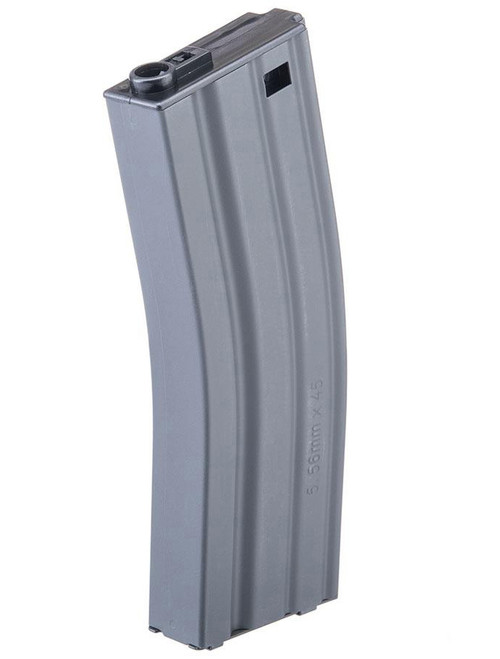 G&G Metal 30rd Real-Sim Magazine for M4/M16 Series Airsoft AEG Rifles (Color: Grey)