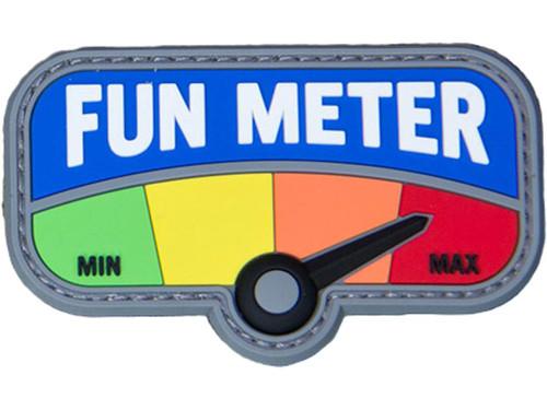 """Mil-Spec Monkey """"Fun Meter"""" PVC Morale Patch"""
