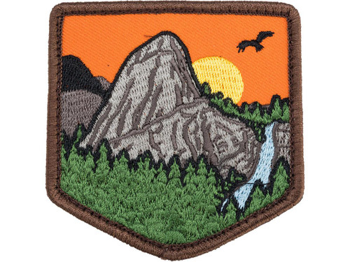 """Mil-Spec Monkey """"Mountain Adventure 1"""" Embroidered Morale Patch (Color: Full Color)"""