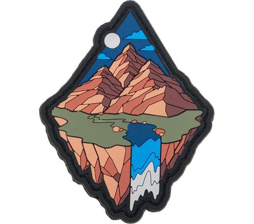 """Mil-spec Monkey """"Mountain Diamond 1"""" PVC Moral Patch"""