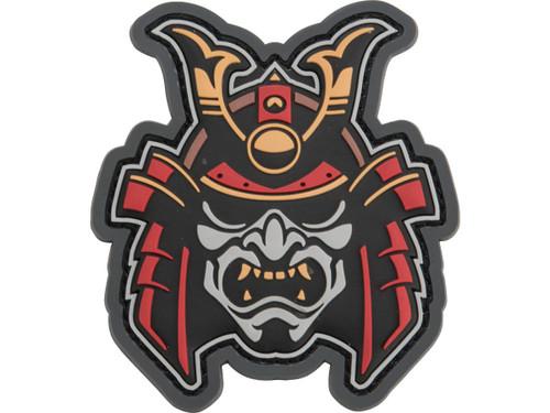 "Mil-Spec Monkey ""Samurai Head 1"" PVC Morale Patch"