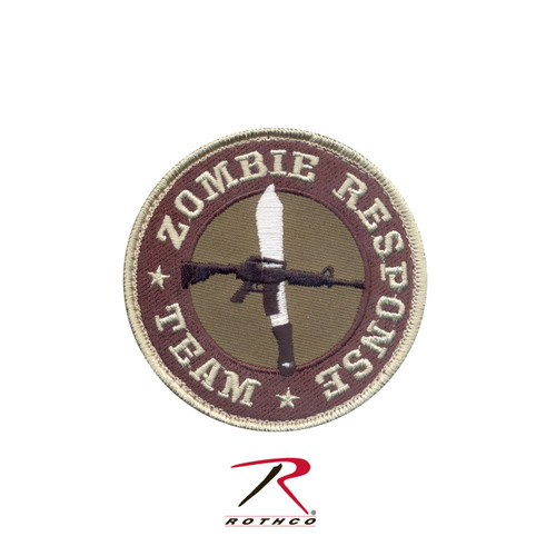 Zombie Response Team Patch - Hook Backing