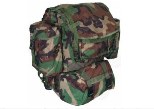 U.S. Armed Forces Molle II Rucksack Sleep System Carrier - Woodland