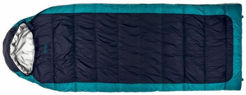Chinook Everest Comfort II 15F Sleeping Bag   - Navy/Cyan