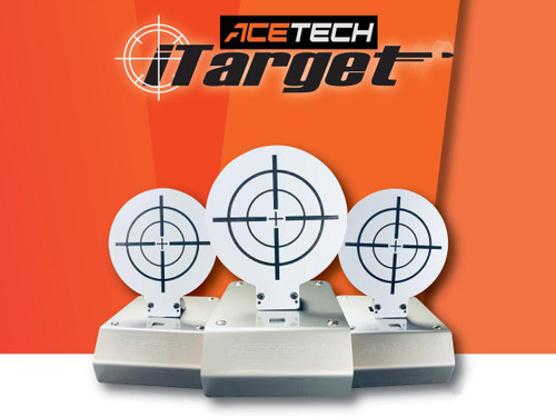 ACETECH iTarget Interactive Target Shooting System w/ LED Scoreboard