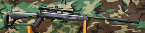 Crosman FIRE Nitro Piston Tech Rifle w/4x32 Scope - USED