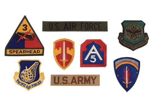 Assorted Military Crests