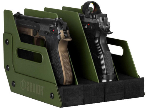 Savior Equipment Pistol Storage Gun Rack (Model: 4 Slot)